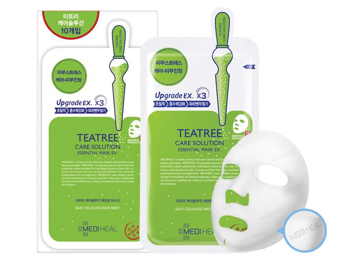 MediHeal Tea Tree Care Solution Sheet Masks (10-Pack)