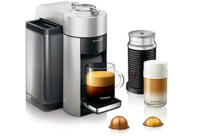 DeLonghi Nespresso Vertuo Evoluo Coffee And Espresso Machine With Aeroccino