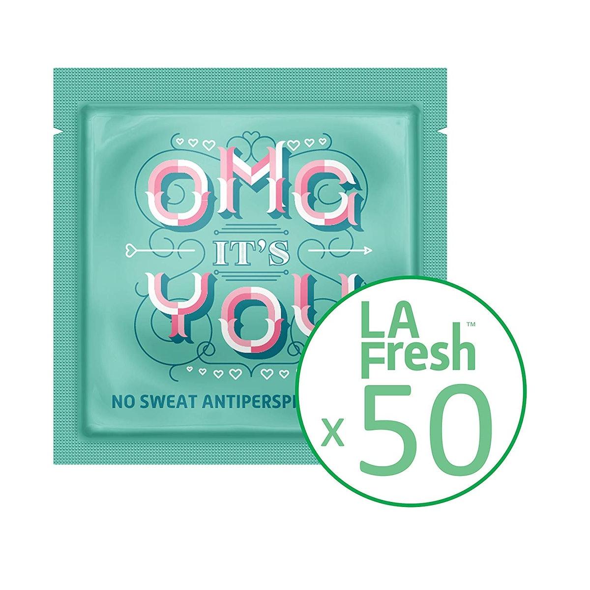 La Fresh Antiperspirant Wipes