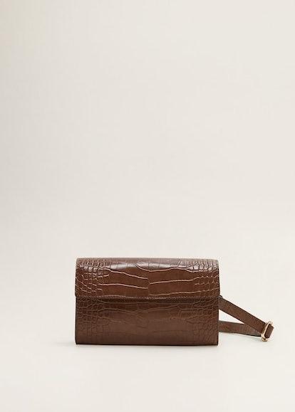 Animal Print Crossbody Belt Bag