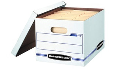 Bankers Box File Storage Boxes (6-Pack)