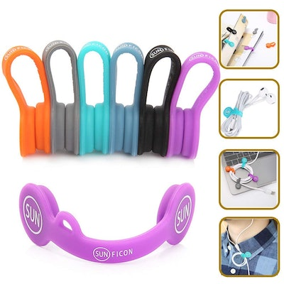 SUNFICON Magnetic Cable Clips