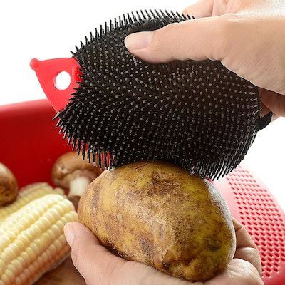 Norpro Hedgehog Silicone Scrubbing Brush