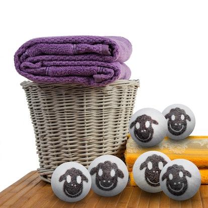 Friendsheep Wool Dryer Balls (6 Pack)