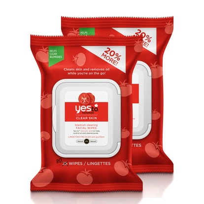 Yes To Tomatoes Facial Wipes (2 Pack)