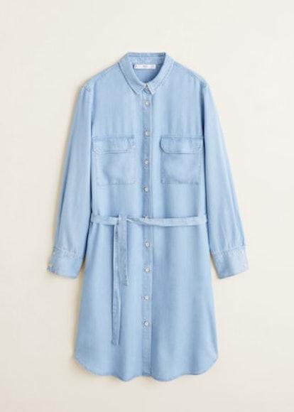 Denim Style Soft Dress