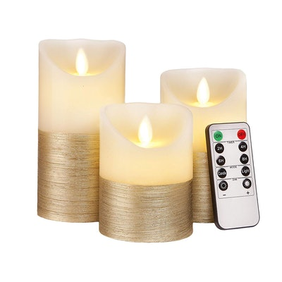 Luminicious Flameless Flickering Candles (Set of 3)