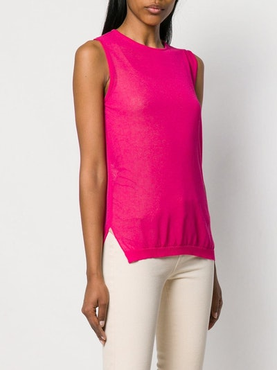 L'autre Chose Knitted Vest Top