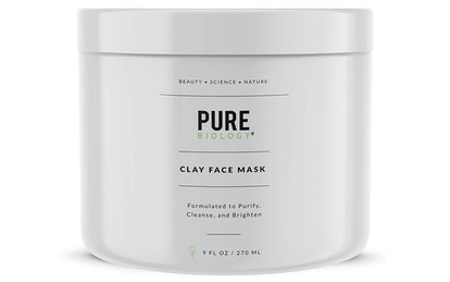 Pure Biology Clay Face Mask, 9 Fl. Oz.