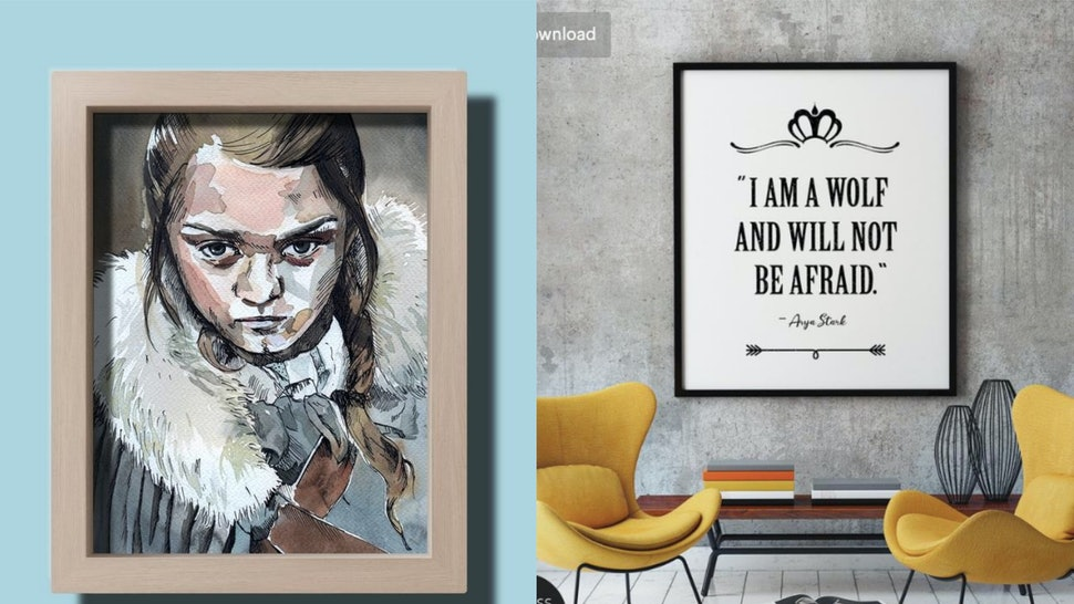 3b570bcca5aa 13  Game Of Thrones  Things Arya Super Fans Can Buy On Etsy
