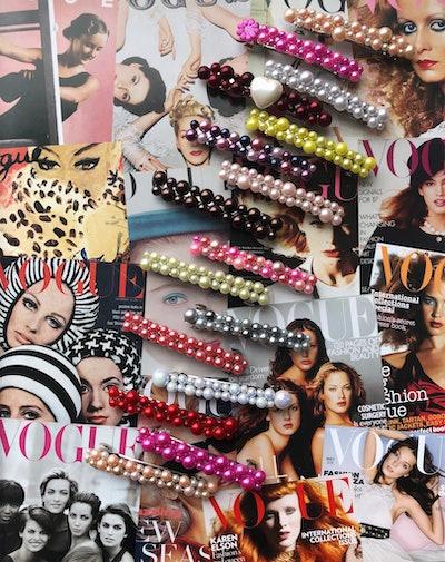 Neophyte Jewels XL Pearl Party Barette