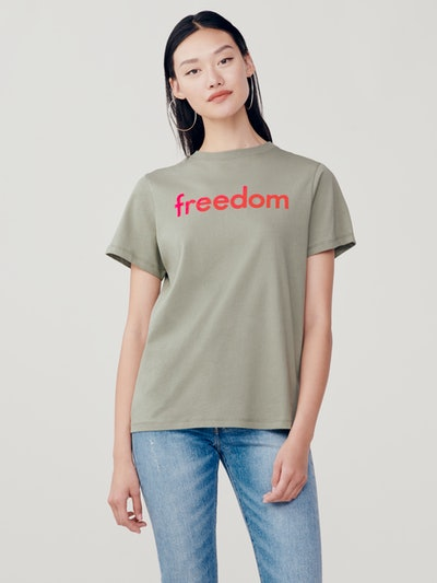 Sold Out Freedom Cotton T-Shirt