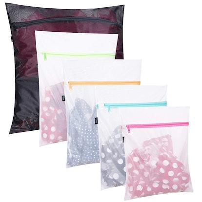 BAGAIL Mesh Laundry Bags (5 Pack)