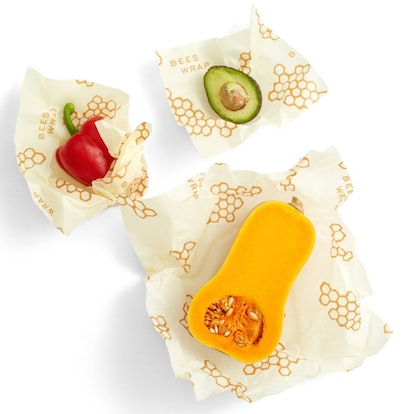Bee's Wrap Eco-Friendly Reusable Food Wraps (3 Pack)