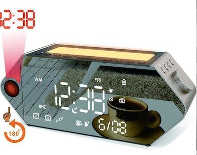 Sicsmiao Projection Sunrise Alarm Clock