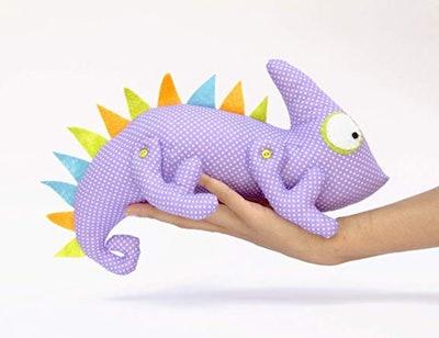 Iguana Toy Stuffed Lizard