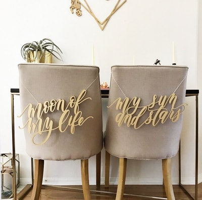 Game Of Thrones Laser Cut Chair Backs