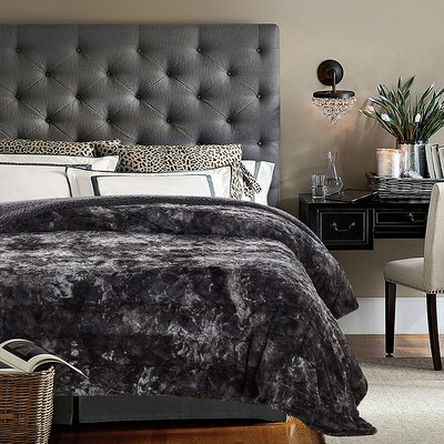 Chanasya Faux Fur Bed Blanket