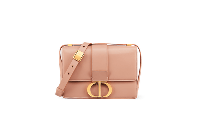 30 Montaigne Calfskin Bag in Pale Pink