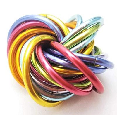 Möbii Unicorn Rainbow: Medium Fidget Ball Stress Mobius Toy