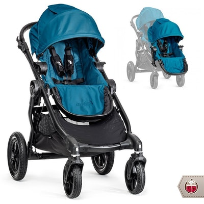 Baby Jogger 2014 City Select Stroller With Second Seat
