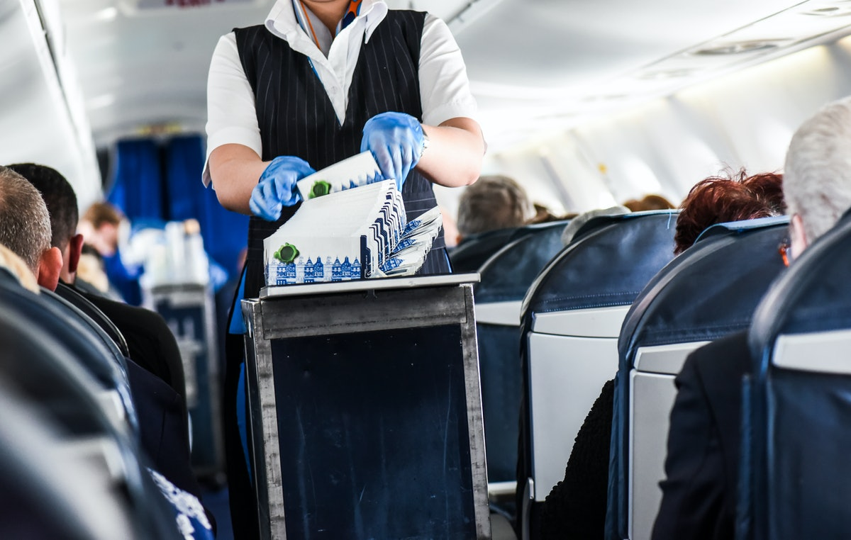 The world's first zero-waste commercial flight cut 75 lbs of garbage. Now it's time we step up