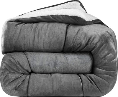 Utopia Bedding All-Season Fleece Comforter
