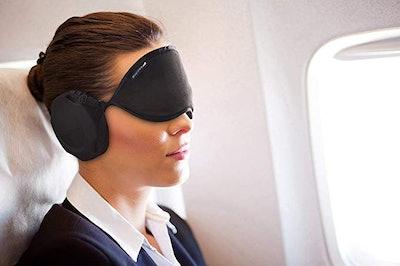 Sleep Mask (With Ear Muffs)