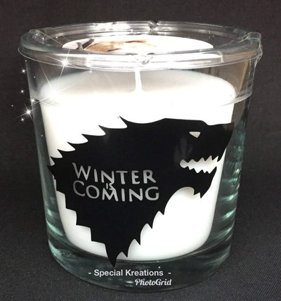Game Of Thrones Candle