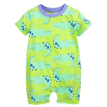 Dom&Lyn Summer Cute Cartoon Animal Short (Sizes 6-24 months)