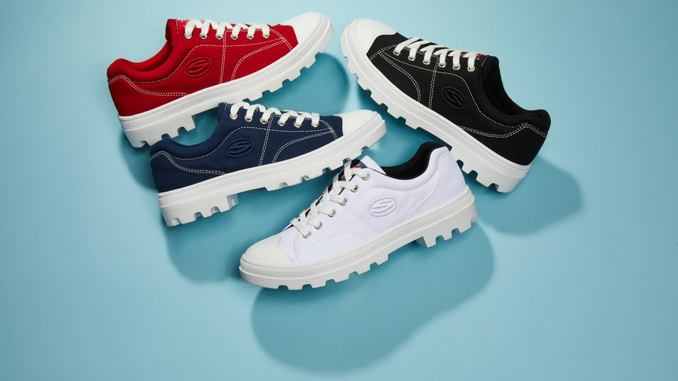 c4a1114851 Where To Buy Skechers' Roadies Platform Sneakers Because '90s Trends ...