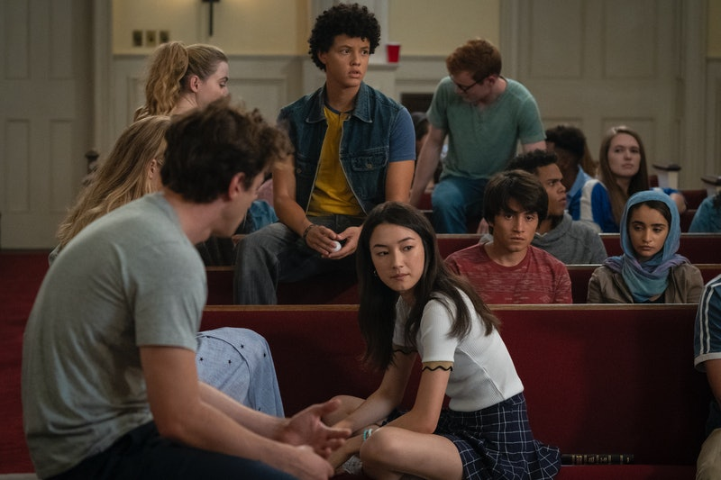 The teens in the The Society Season 1 via the Netflix press site