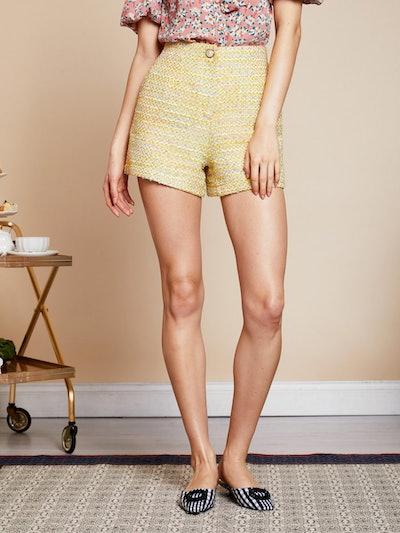 Hey Honey Tweed Shorts