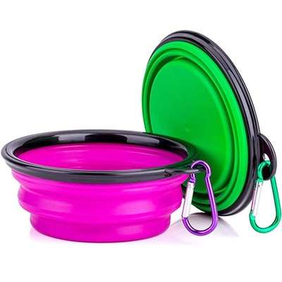 IDEGG Portable Silicone Pet Bowl