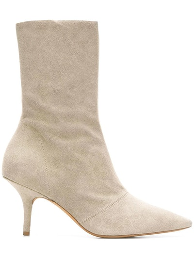 Tall Ankle Boots