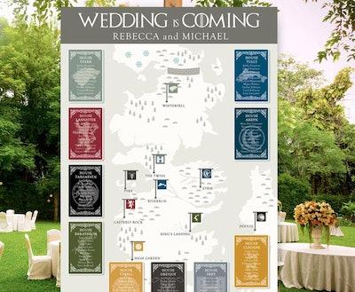 Wedding Seating Chart Printable