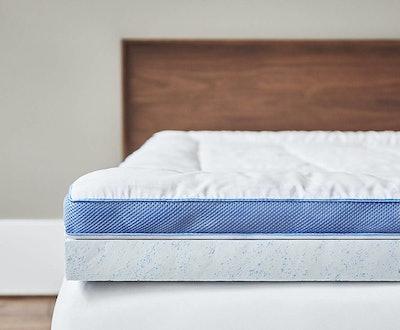 ViscoSoft Pillow-Top Latex Mattress Topper