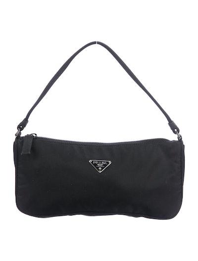 Vintage Vela Nylon Shoulder Bag