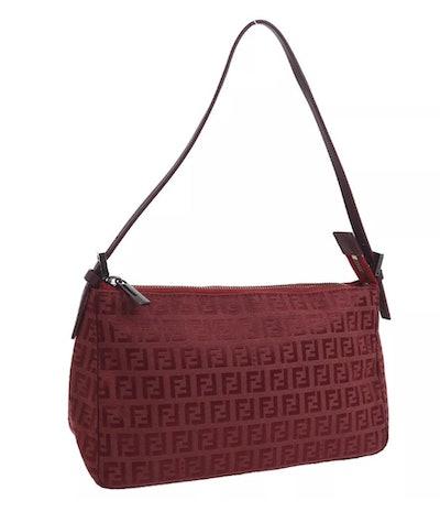 Vintage Mini Zucca Shoulder Bag
