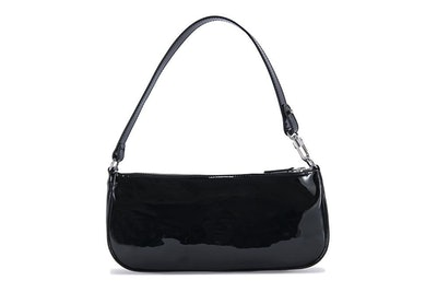Rachel Patent Shoulder Bag