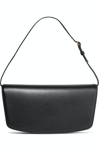 Julien Baguette Leather Shoulder Bag