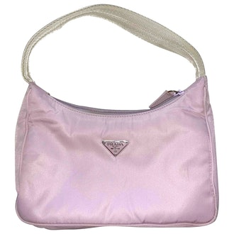 Vintage Tessuto Nylon Shoulder Bag