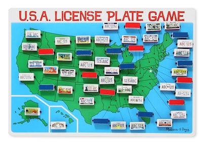 Melissa & Doug License Plate Game