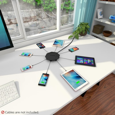 Skiva Octofire Multi USB Charger