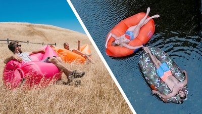 Chillbo Baggins Inflatable Lounge Bag Hammock