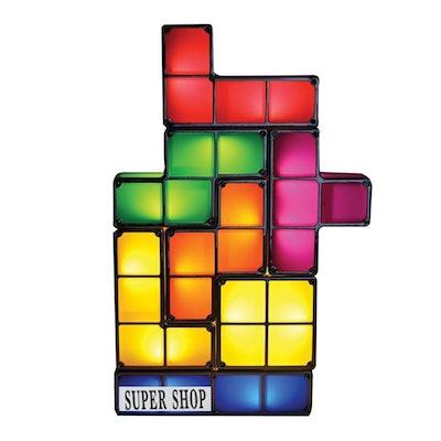 Supershop Tetris Lamp