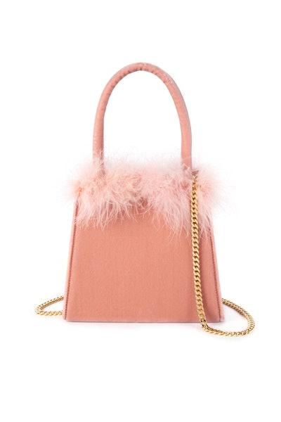 Heloise Mini Feather Bucket Bag