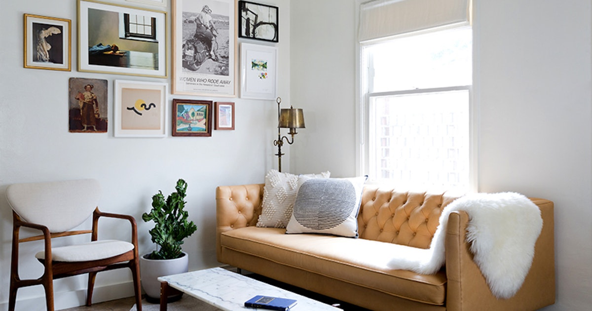 This Designer-Approved Decor Tip Will Make Your Living Room Look Huge