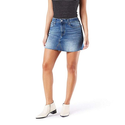 Signature by Levi Strauss & Co. Gold Label Women's Mid-Rise Mini Skirt