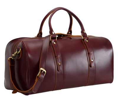Polare 23-Inch Classic Leather Weekender